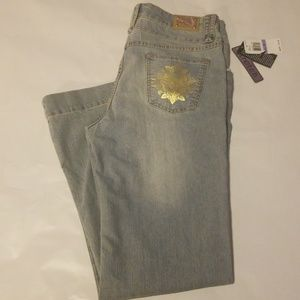 NWT Baby Phat Stretch Jeans Size 18